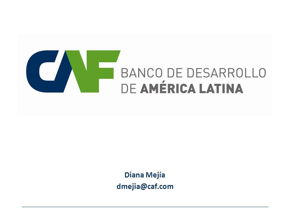 Diana Mejía dmejia@caf.com