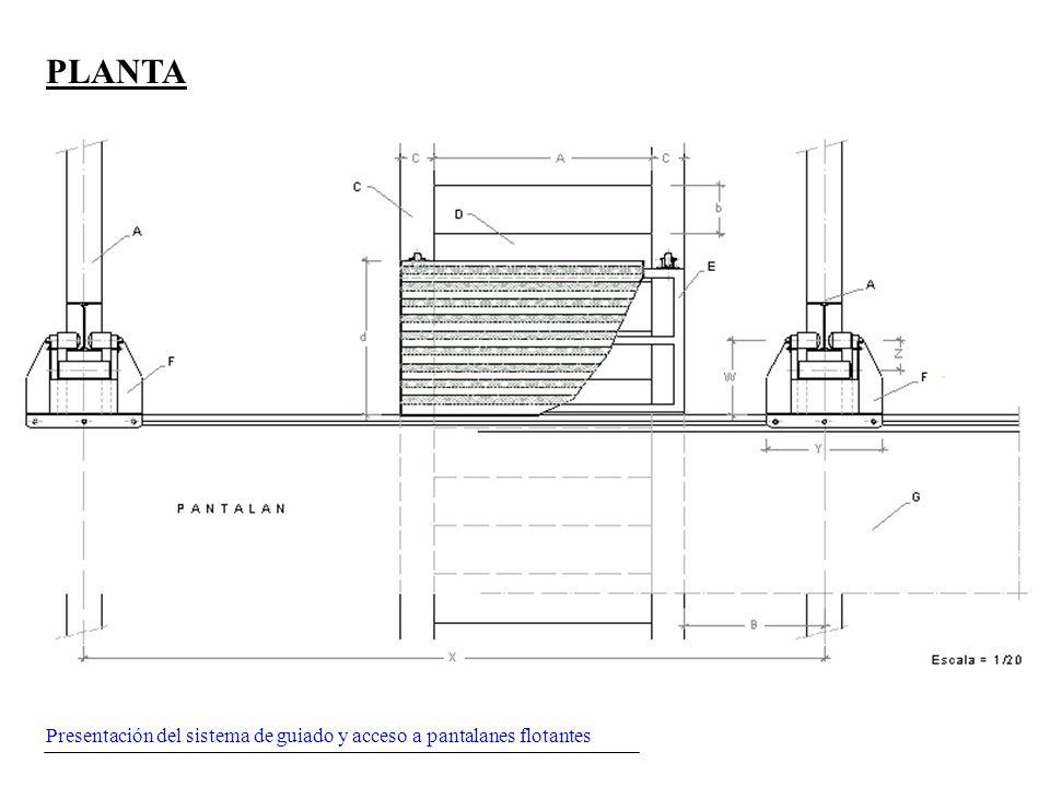 Presentación del sistema de guiado y acceso a pantalanes flotantes PLANTA