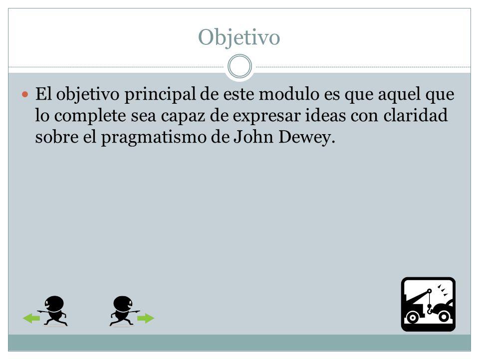 Indice Objetivo Que es pragmatismo.