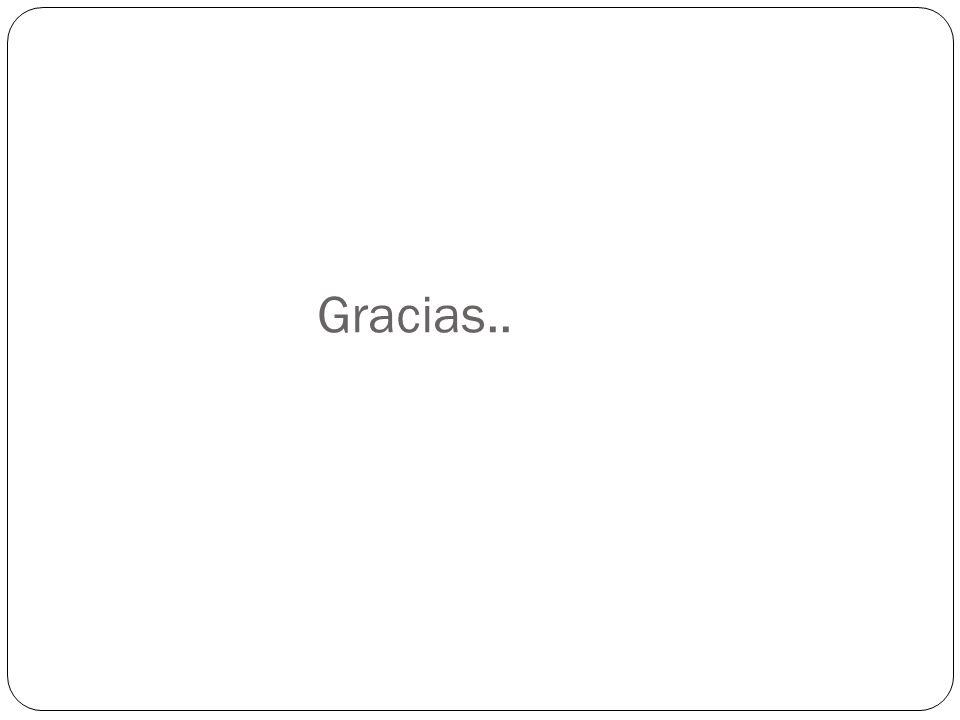 Gracias..