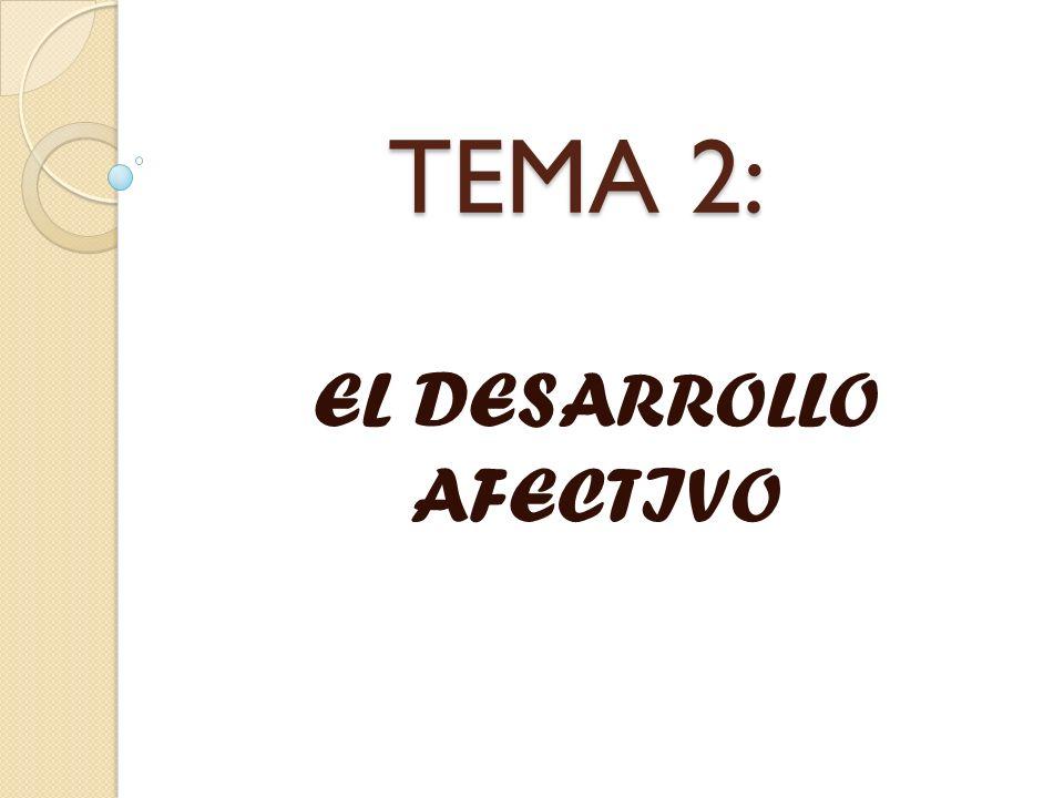 EL DESARROLLO AFECTIVO Y SUS TEORÍAS.