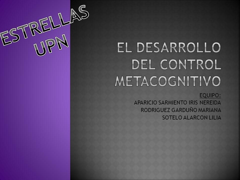 La adquisición de la metacognición no garantiza el aprendizaje y la solución de problemas.