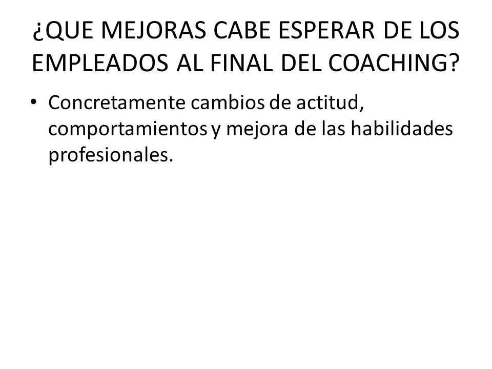 CUANTOS AÑOS DE EXPERIENCIA TIENE EN EL COACHING DE EJECUTIVOS Cinco años de dedicación profesional en el coaching personal y de ejecutivos.