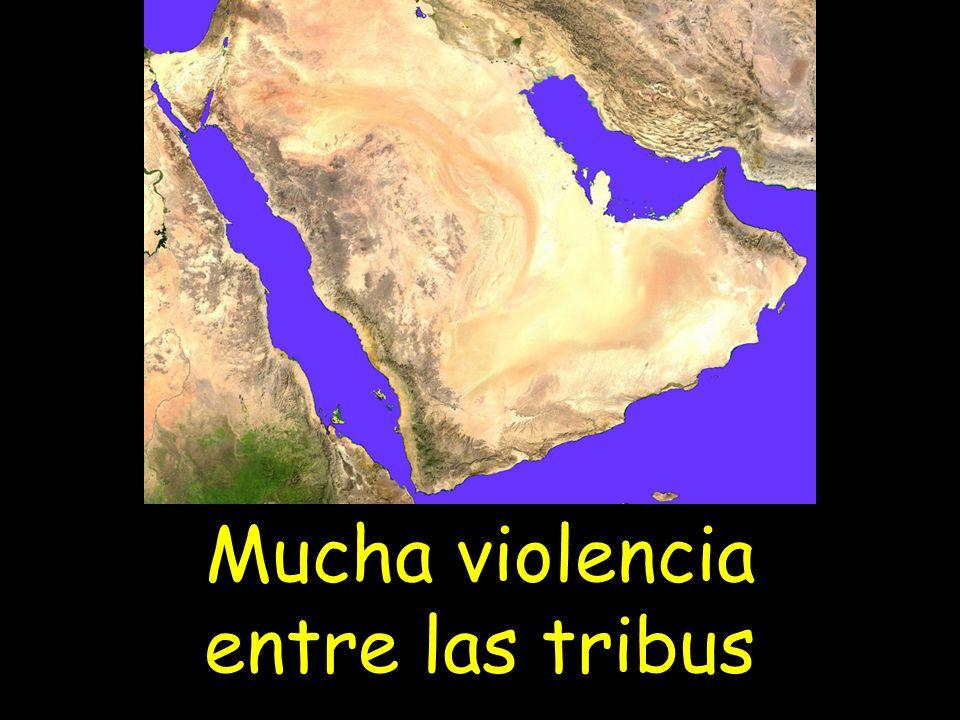 Mucha violencia entre las tribus
