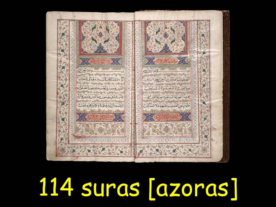 114 suras [azoras]