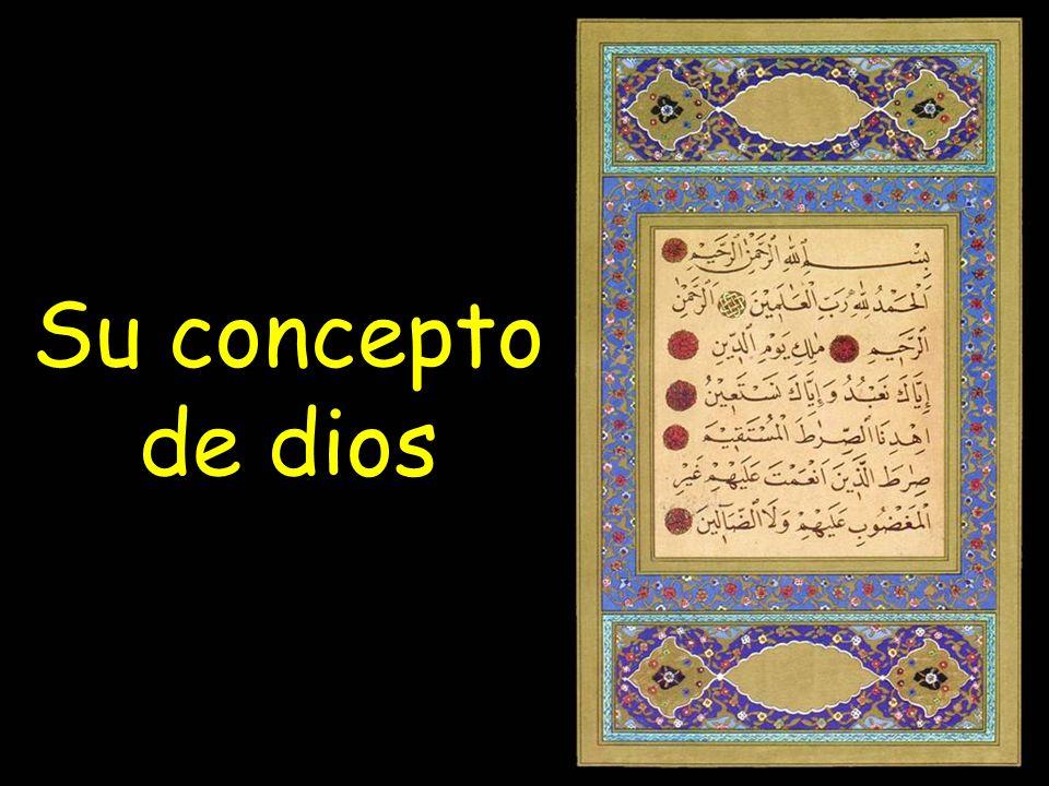 Su concepto de dios