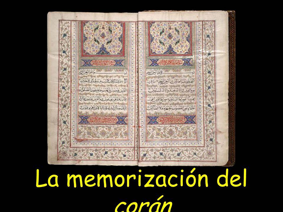 La memorización del corán