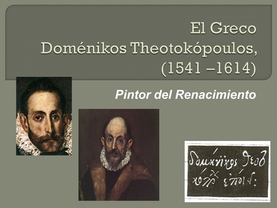 Pintor del Renacimiento