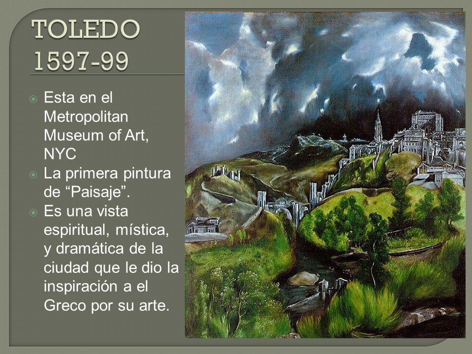OBRA MAESTRA de El Greco.El Greco lo pintó por La Iglesia de Santo Tomé en Toledo.