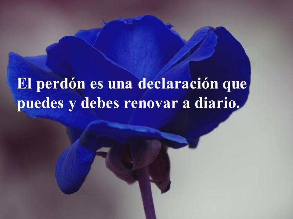 El perdón es una declaración que puedes y debes renovar a diario.