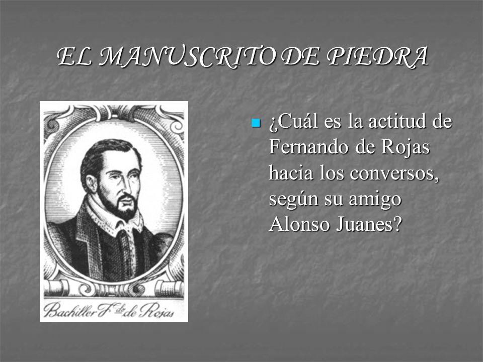 EL MANUSCRITO DE PIEDRA ¿Por qué tiene tanta importancia la ciudad de Salamanca en el siglo XVI.
