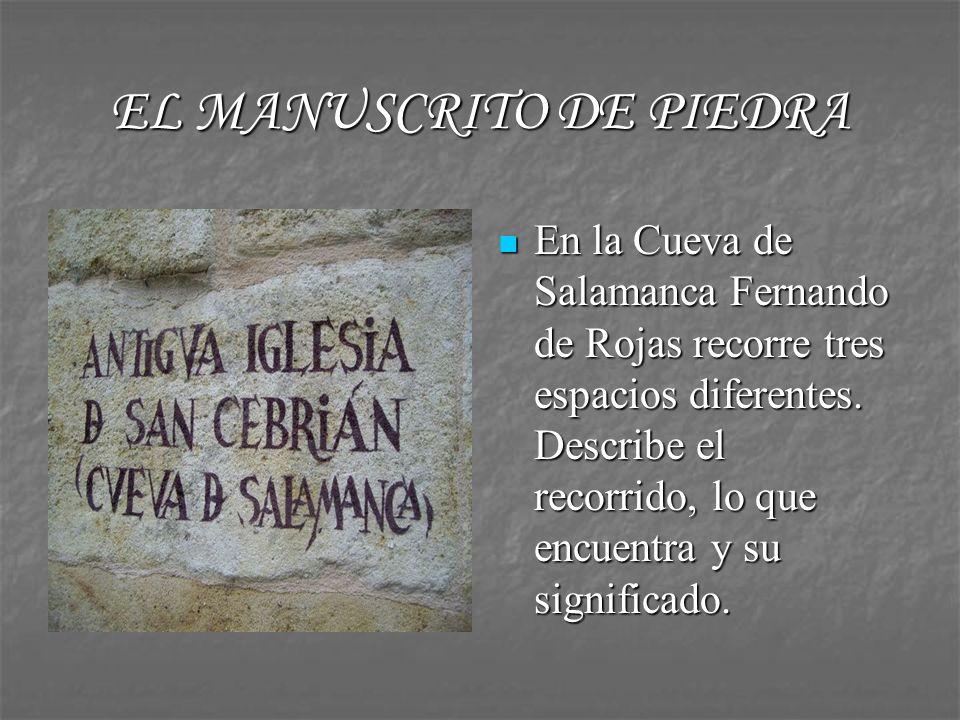 EL MANUSCRITO DE PIEDRA http://www.youtube.c om/watch?v=clzqlehv RmE http://www.youtube.c om/watch?v=clzqlehv RmE