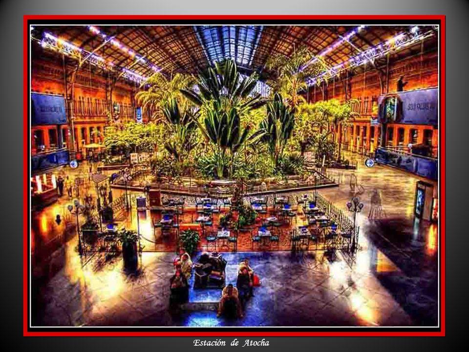 Interior del Palacio de Cristal