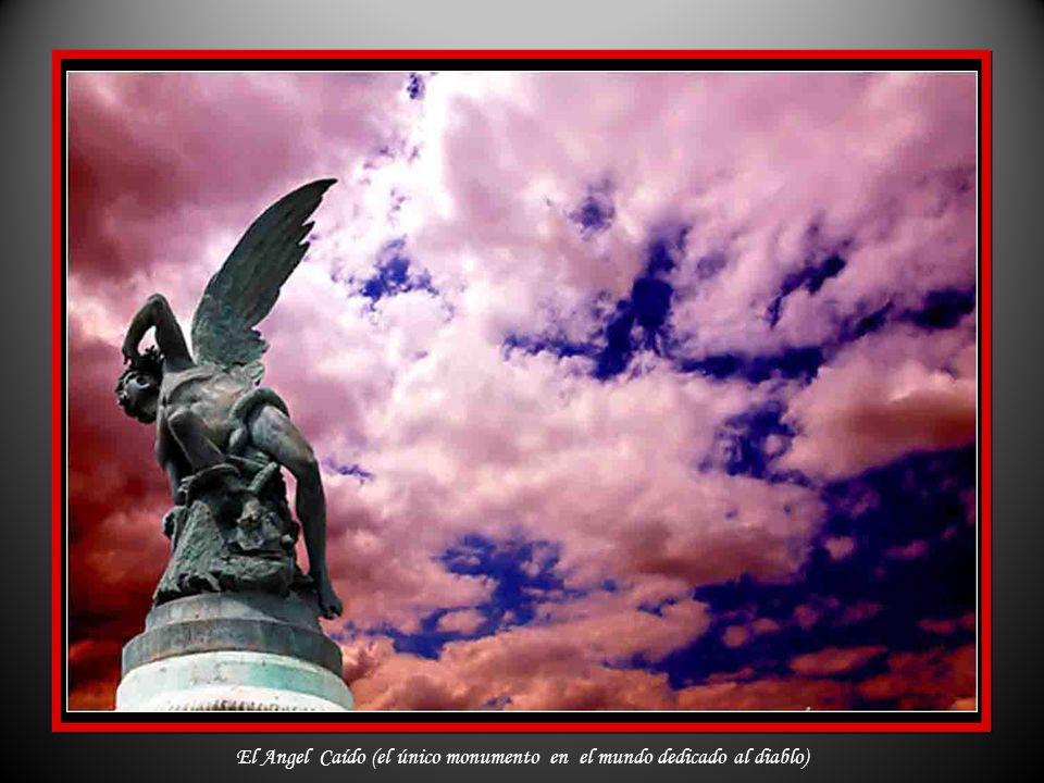 El Angel Caído (el único monumento en el mundo dedicado al diablo)