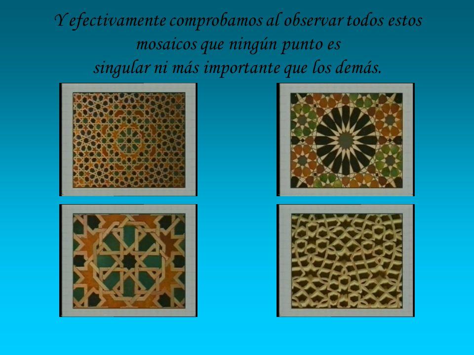 Para conseguir este efecto se utilizan dos técnicas: Aplicación de recursos de simetría.
