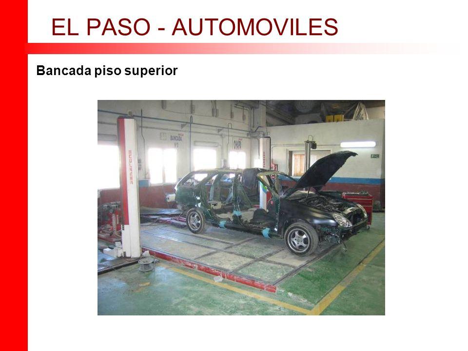 Bancada piso superior EL PASO - AUTOMOVILES