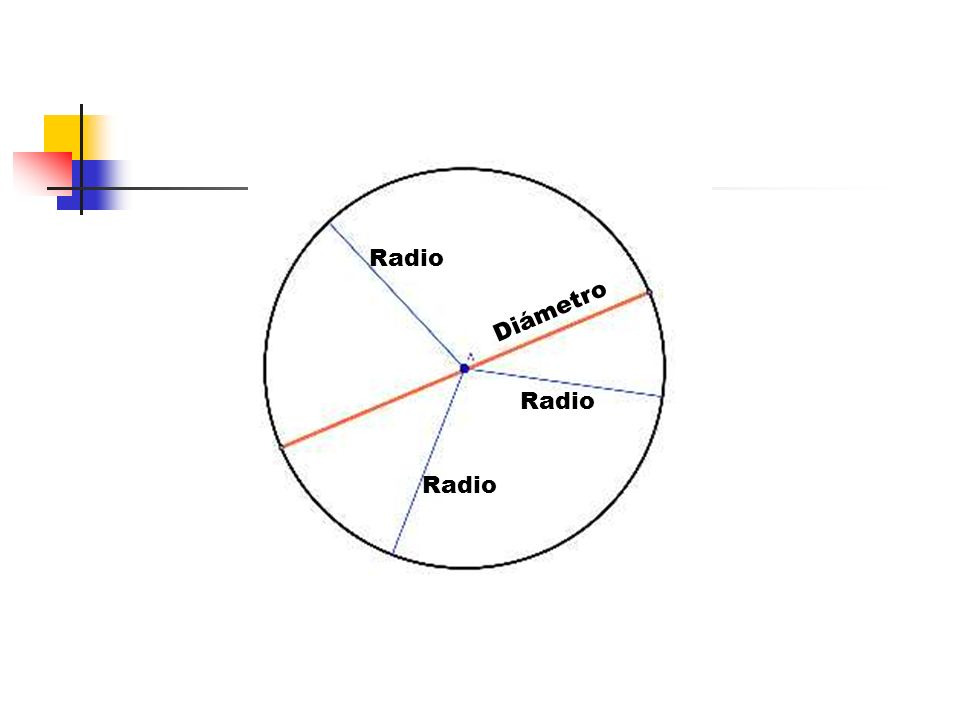 Radio Diámetro