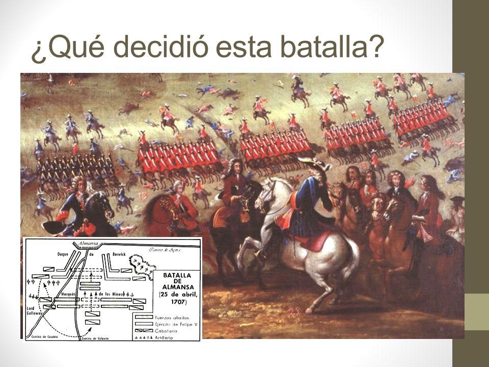 ¿Qué decidió esta batalla?