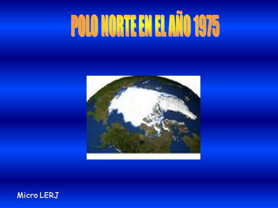 El Polo Norte está desapareciendo