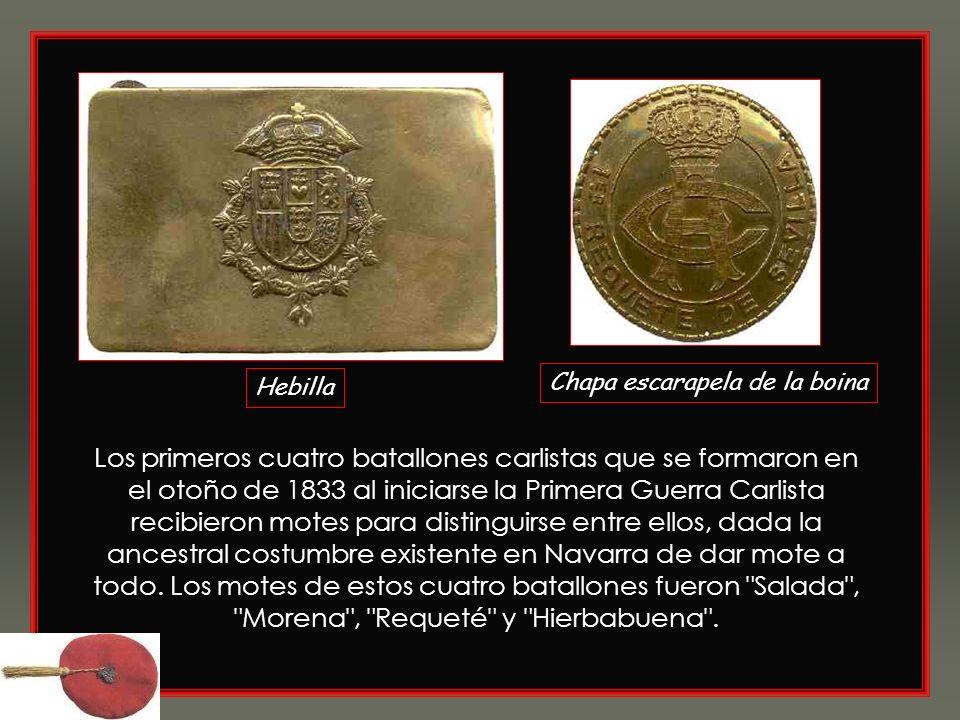 Los Requetés fueron soldados carlistas navarros durante la Primera Guerra Carlista. A principios del siglo XX, la fuerza paramilitar carlista adoptó e