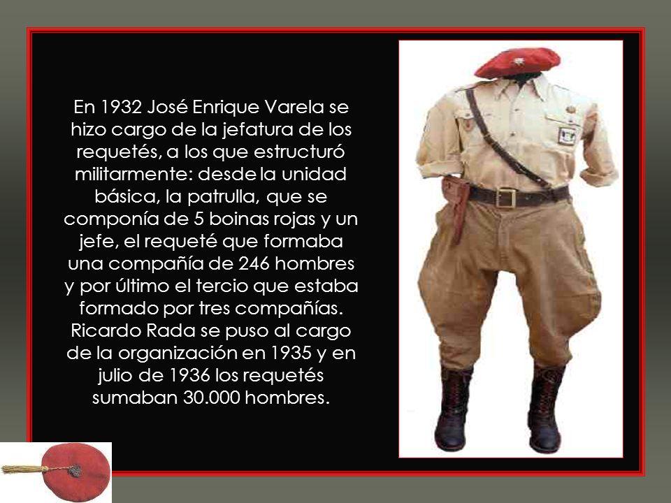 Bajo la dirección de Joaquín Llorens se convirtió a partir de 1913 en la organización paramilitar del carlismo. Mantuvo escasa actividad en los años d