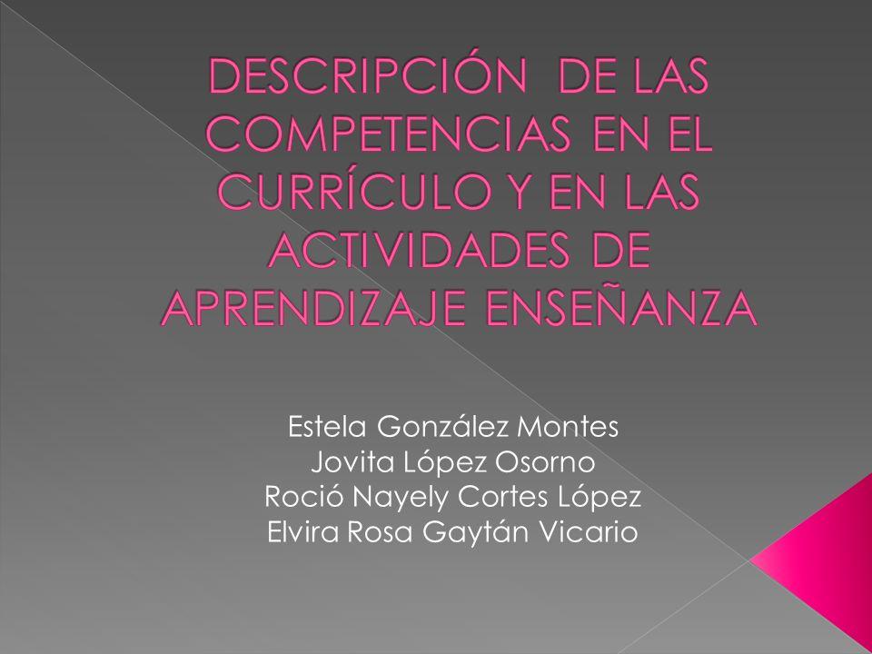 Estela González Montes Jovita López Osorno Roció Nayely Cortes López Elvira Rosa Gaytán Vicario