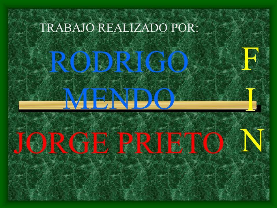 FINFIN TRABAJO REALIZADO POR: RODRIGO MENDO JORGE PRIETO