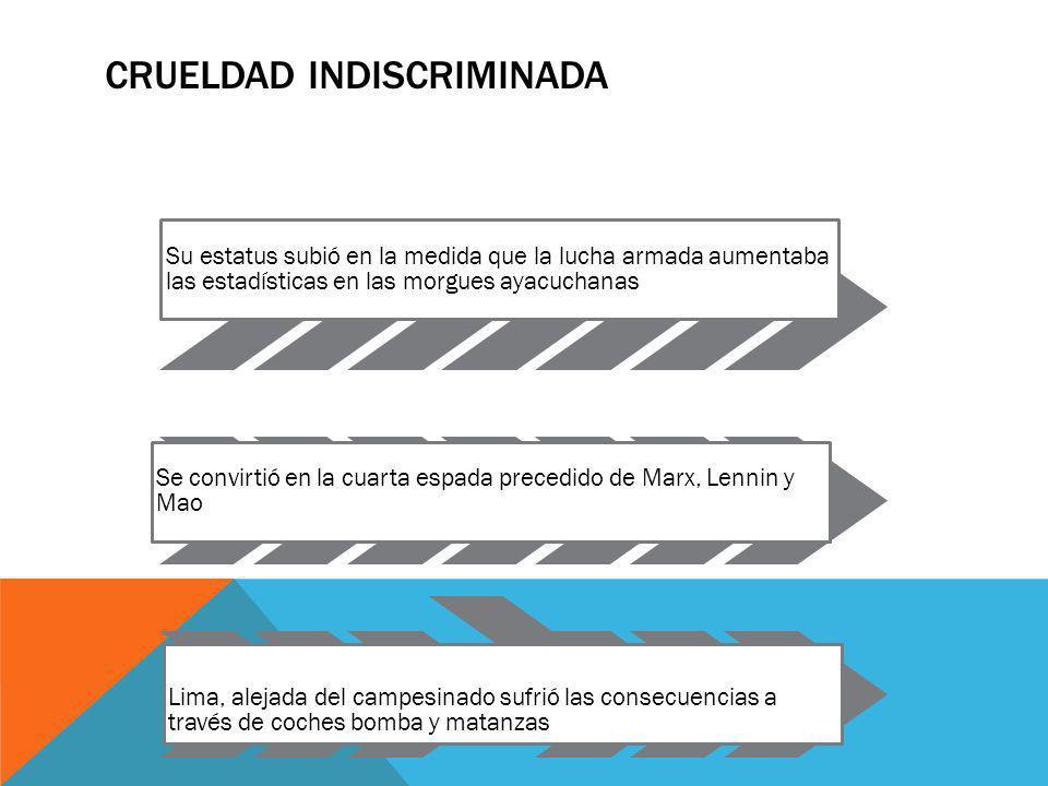 EL FINAL La captura de Abimael Guzmán y su plana mayor en una casa limeña, el 2 de setiembre de 1992 puso fin a la hegemonía minoritaria de SL, El entonces presidente Alberto Fujimori crea las cortes militares en las que sentenciaba a los senderistas en juicios sumarios sin mayor derecho a apelación
