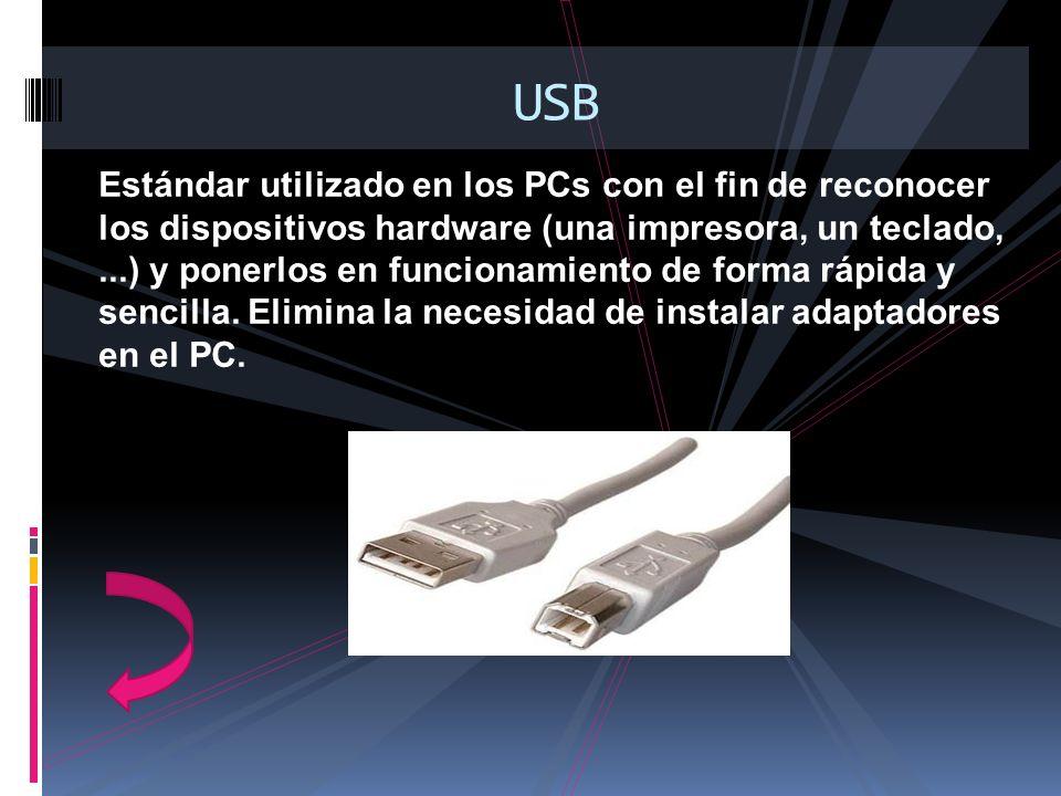 Estándar utilizado en los PCs con el fin de reconocer los dispositivos hardware (una impresora, un teclado,...) y ponerlos en funcionamiento de forma