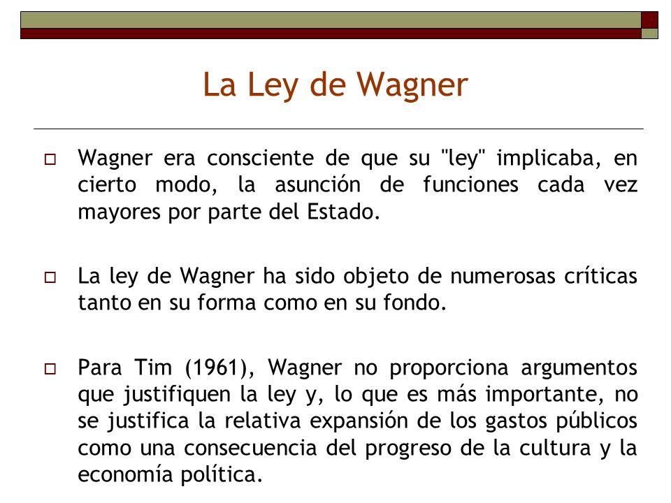Wagner era consciente de que su