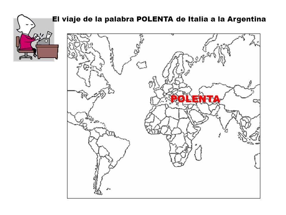 La evolución de la polenta es aún más extensa en el tiempo y con mayores variaciones, inicialmente se preparaba con hierbas y desde el Imperio romano