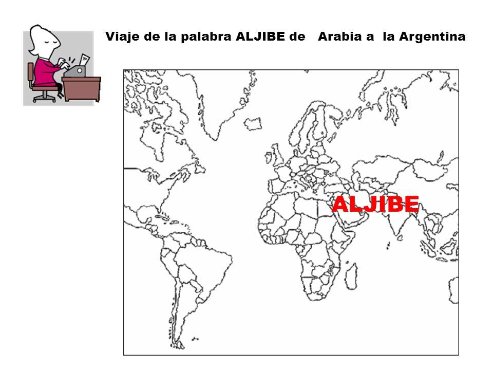 ALJIBE El aljibe (del árabe hispano algúbb, y éste del árabe clásico gubb), es un depósito destinado a guardar agua potable, procedente de la lluvia recogida de los tejados de las casas o de las acogidas, habitualmente, que se conduce mediante canalizaciones.