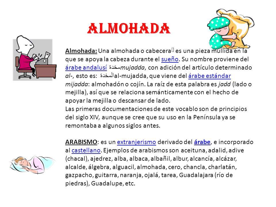 ALJIBE Viaje de la palabra ALJIBE de Arabia a la Argentina