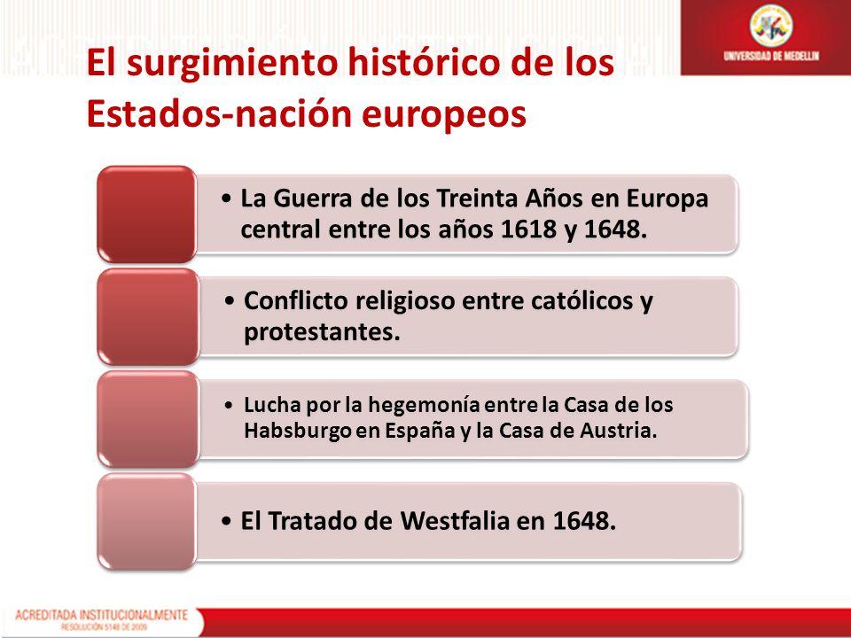 La Guerra de los Treinta Años en Europa central entre los años 1618 y 1648. Conflicto religioso entre católicos y protestantes. Lucha por la hegemonía