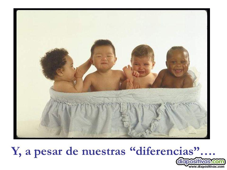 Y, a pesar de nuestras diferencias….