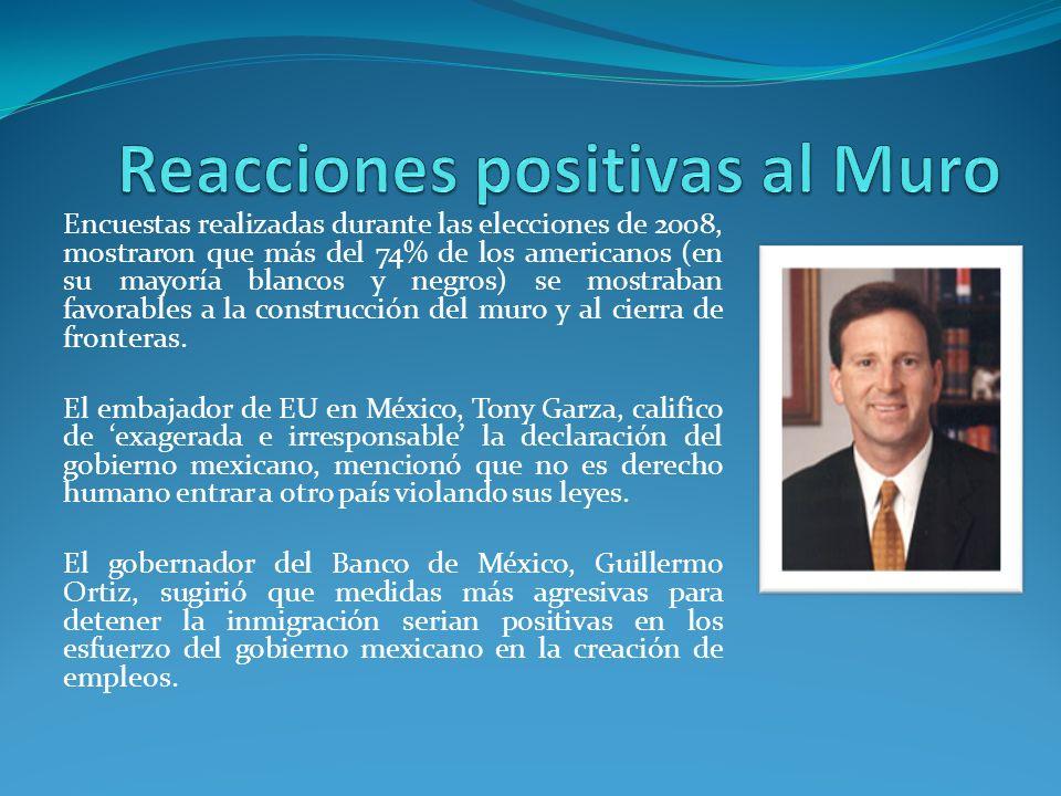 Empresarios y granjeros de la frontera de EU con México expresaron su preocupación ante la posible caída de sus ventas, ante la reducción del flujo de inmigrantes, misma opinión que tuvo la analista financiera Standard & Poor.