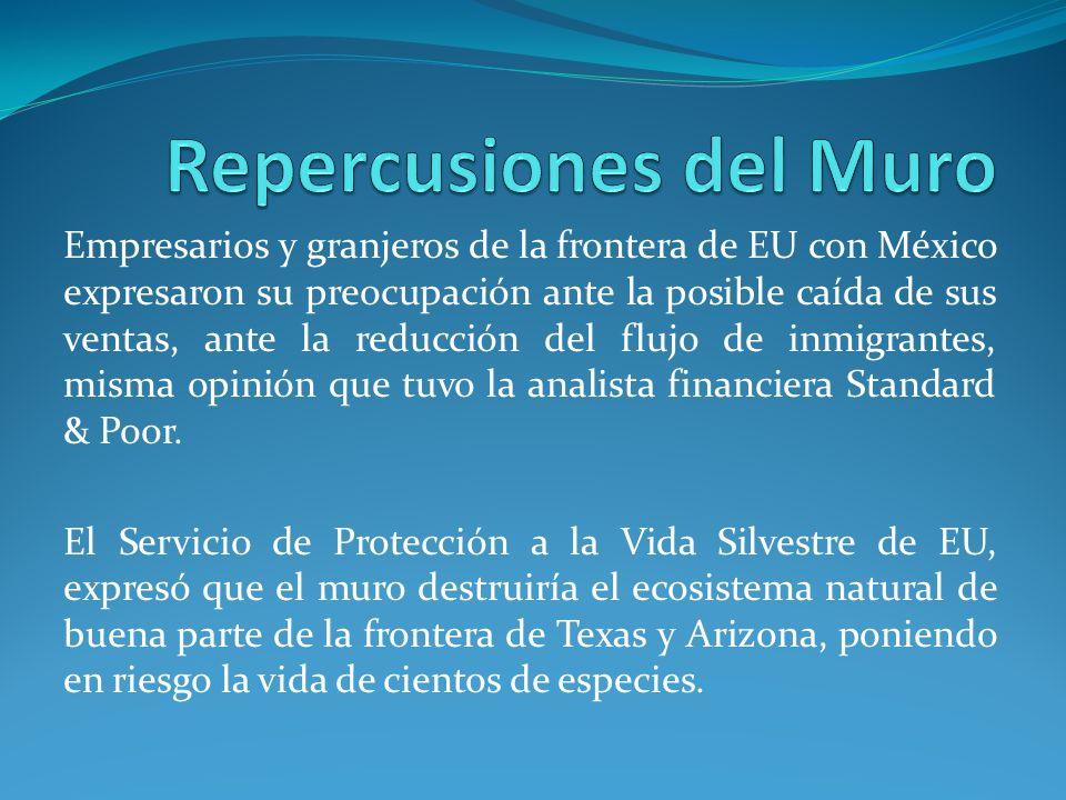 Empresarios y granjeros de la frontera de EU con México expresaron su preocupación ante la posible caída de sus ventas, ante la reducción del flujo de