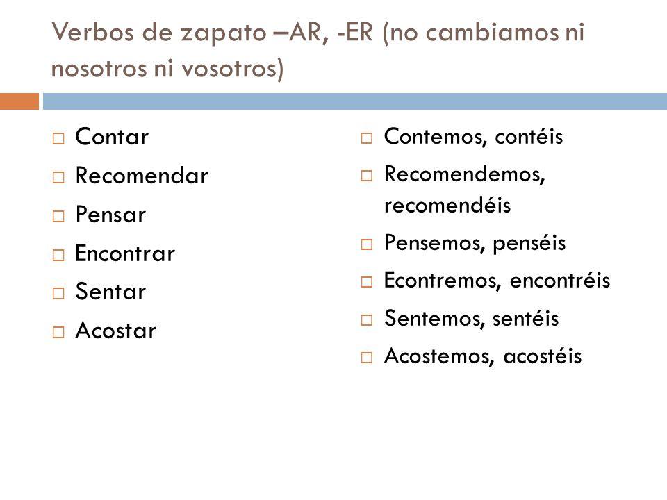 Checa tus respuestas: 17.Yo insisto que la profesora me ayude.