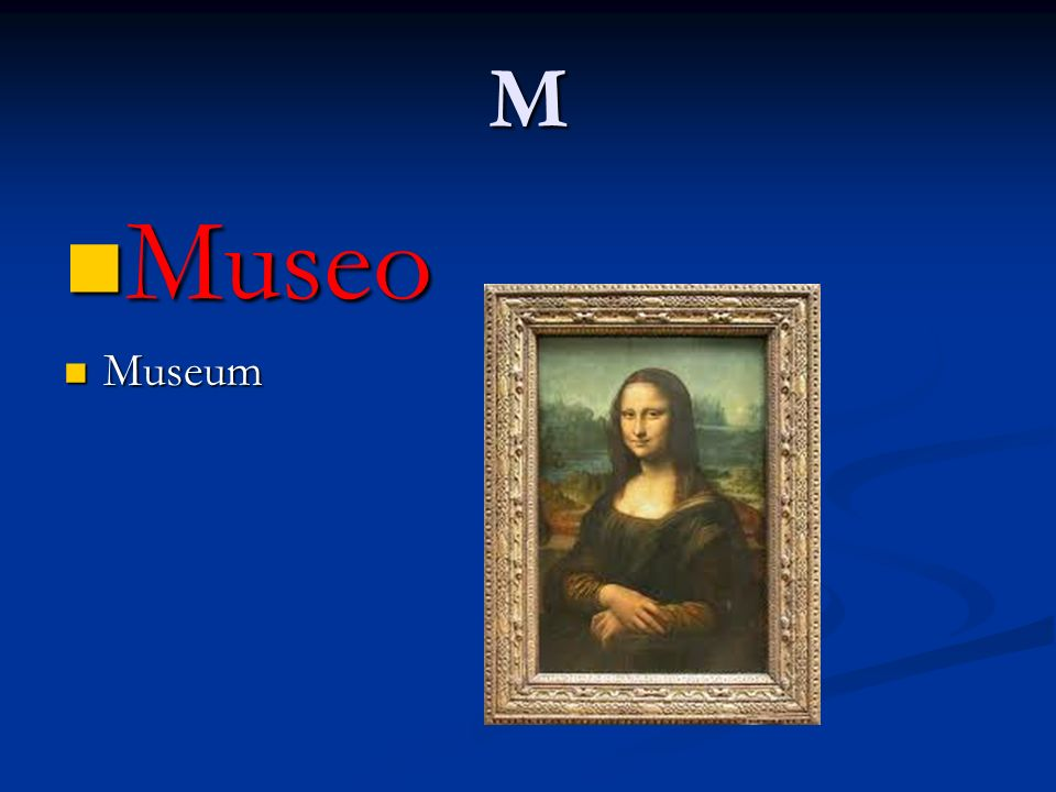 M Museo Museo Museum Museum