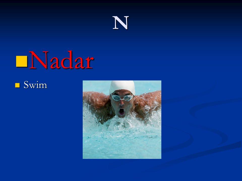 N Nadar Nadar Swim Swim