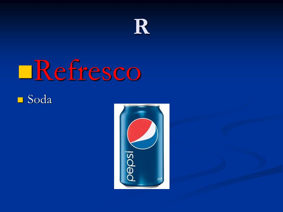 R Refresco Refresco Soda Soda