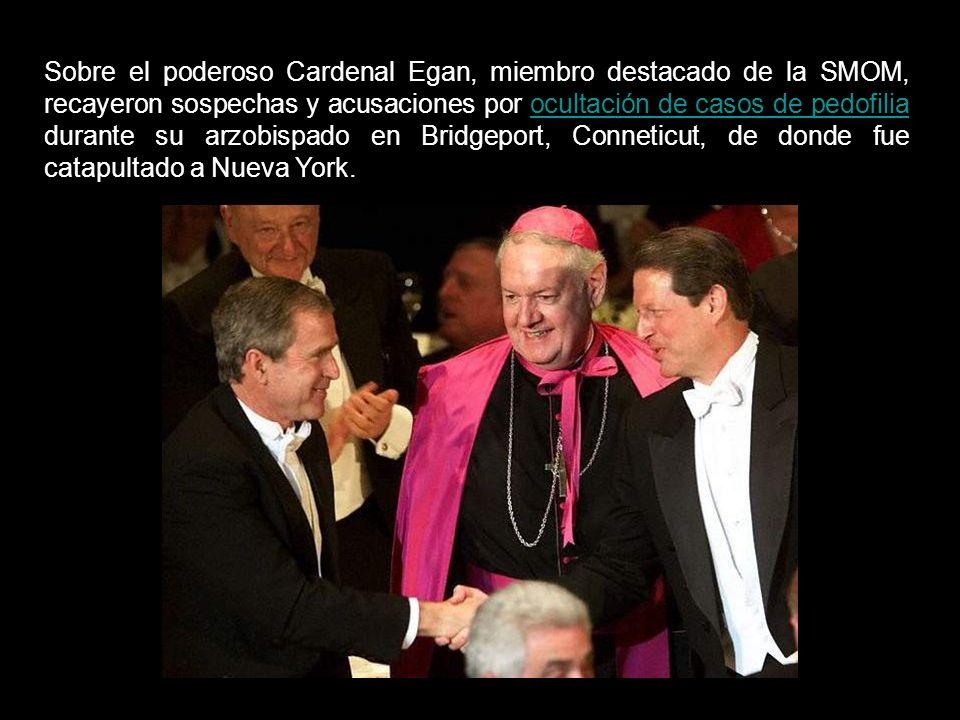 En fuentes varias, se asegura que el Cardenal Edward Michael Egan, Arzobispo de Nueva York hasta abril de 2009 y líder de la SMOM en EEUU, es quien controla el CFR, el think-tank más influyente en política exterior de los EE.UU.Cardenal Edward Michael EganCFR
