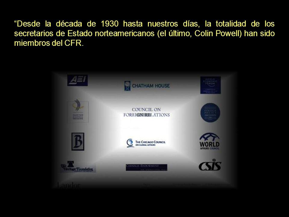En el CFR coinciden miembros de la Orden como: Rupert Murdoch, David Rockefeller,… Pero, además: Rupert MurdochDavid Rockefeller