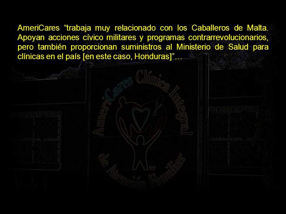 Otras fundaciones y organismos vinculados: Heritage Foundation; Ayuda en Acción presidida en España por el Conde Orgaz (presidente de la Asamblea española de la Orden de Malta); American Institute for Free Labor Development (AIFLD) (organización vinculada a la CIA que fue dirigida por J.