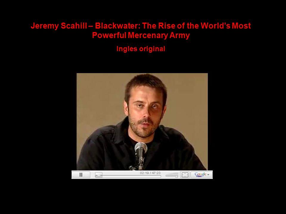 Este vínculo entre Blackwater y la Orden de San Juan de Jerusalén, Rodas, Chipre y Malta se menciona también en el libro del periodista Jeremy Scahill: Blackwater: The Rise of the Worlds Most Powerful Mercenary Army