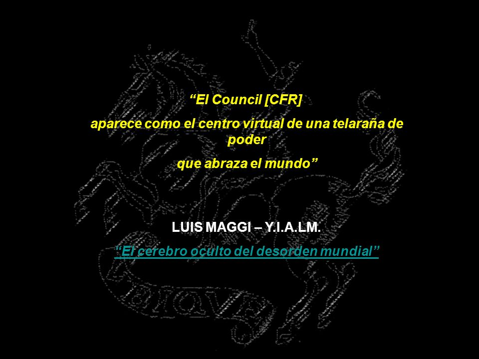 ORDEN DE MALTA, CFR Y OTROS