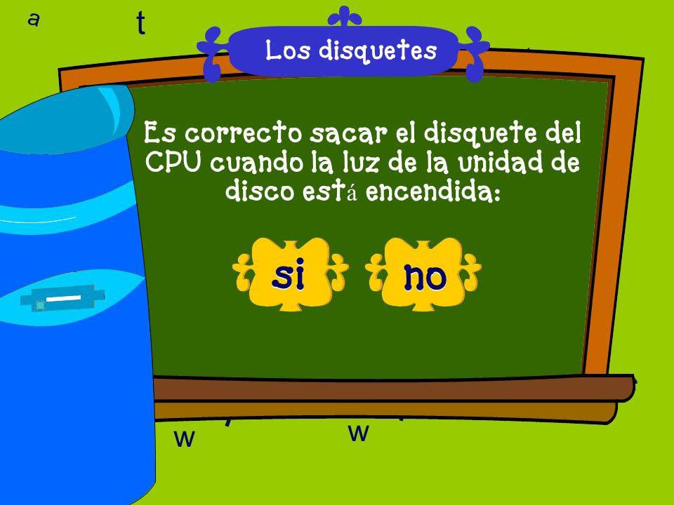 a c t 6 9 l D a c t w A 6 9 D T l w l w c 6 correcto, esa es la respuesta - FELICIDADES Los disquetes
