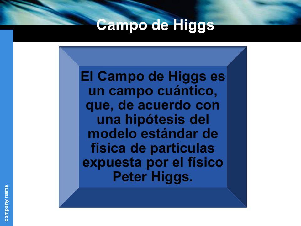 company name Campo de Higgs