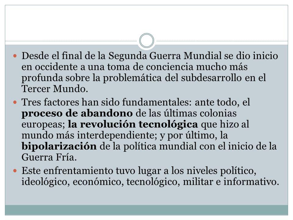 LA VALIDEZ DE LAS GRANDES TEORIAS La importancia de la Teoría de la Modernización y de la Dependencia radica, sobre todo, en que desarrollaron conceptos que no habían sido tratados antes en el campo académico latinoamericano.