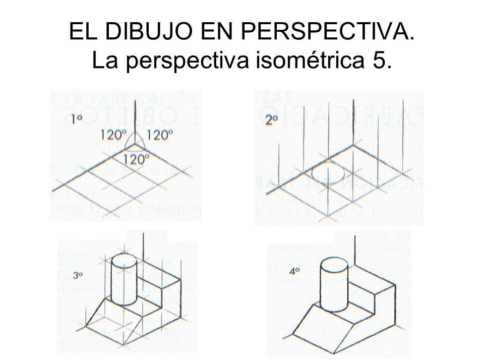 EL DIBUJO EN PERSPECTIVA. La perspectiva isométrica 5.